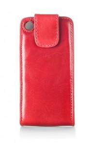 rött överdrag för mobilen